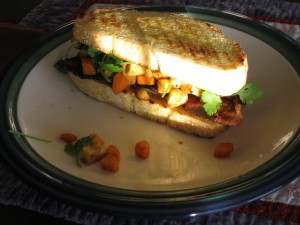Completed sandwich