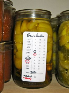 French Vanilla Pickles