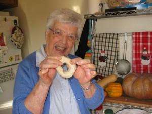 Grandma with cuduridi